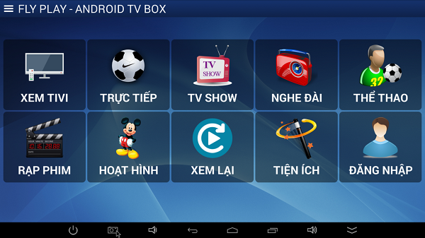 FlyTV cho Android